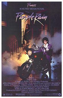 Purple Rain Film Cover